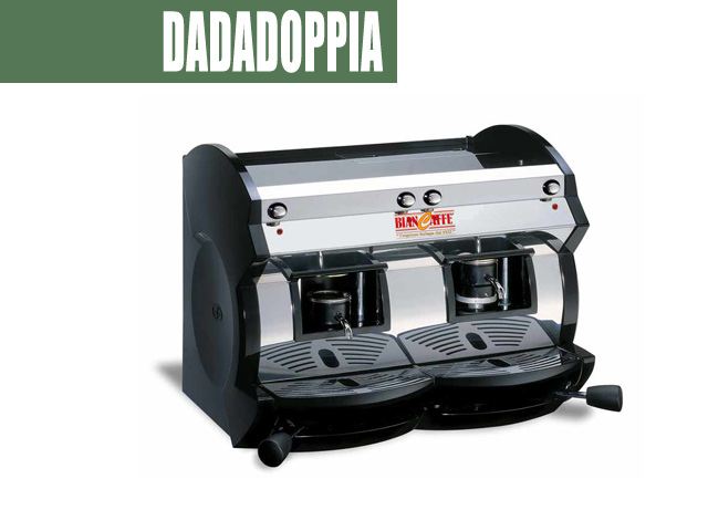 dadadoppia double pods coffee bar machine