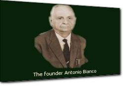 The founder Antonio Bianco